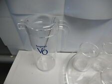 7-pc. Seagrams Vo Beverage Set. The finest Acrylic. Pitcher, glasses, tray. Mc2