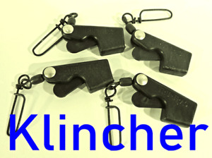 Tru Trac Klincher Original Downrigger Cable/Line Terminator Pkg of 4. Low KT2207