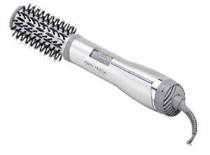 John Frieda JFHA5R Frizz Ease Salon Shape 1.5 Inch Ionic Hot Air Brush Silver