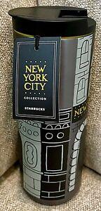 Starbucks New York City Vacuum Insulated Tumbler 2018 Stainless Steel 16 Oz NEW
