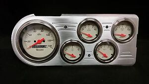 1948 1949 1950 FORD TRUCK 5 GAUGE DASH CLUSTER SHARK