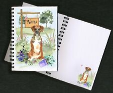 Boxer Dog Notebook/Notepad + small image on each page by Starprint