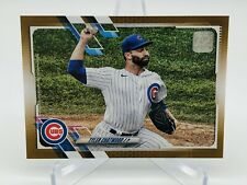 2021 Topps Series 1 Tyler Chatwood GOLD Card 1686/2021 - Invest - Cubs