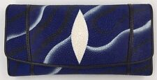 Genuine Stingray Clutch Wallet - FREE PRIORITY SHIPPING!!!