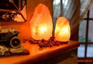 Original Himalayan Crystal Rock Salt Lamp Natural Crystal Rock Salt LAMP 5-7 Kg