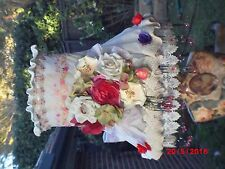 Lampshade, Vintage,Shabby Chic, Victoriana, Hand Crafted, One Of A Kind