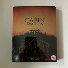 THE CABIN IN THE WOODS 4K UHD + Blu-Ray Steelbook Zavvi Exclusive NEW & SEALED