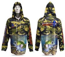 New Killer Crank Murray Cod Fishing Shirt With Hood. All Mens Sizes +Kids 6 & 12