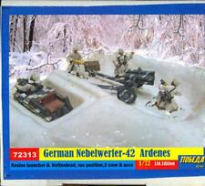 BUM Models 1/72 GERMAN NEBELWERFER with CREW IN THE ARDENNES Figure Set