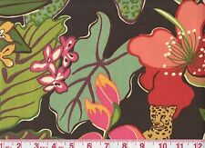 Overstock - P Kaufmann Print Drapery Upholstery Fabric Jungle Fever Tropic