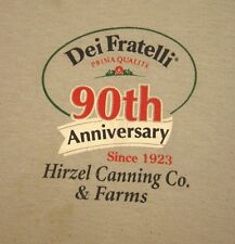 DEI FRATELLI Canned Tomato med T shirt Prima Qualita salsa tee 2013 anniversary