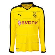 Puma BVB Borussia Dortmund Kinder Langarm Heimtrikot - Gr. 152 - Farbe Gelb