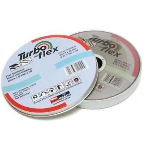 Hilka Turbo Flex SS 115mm x 1mm x 22mm Thin Cutting Disc Tin of 10