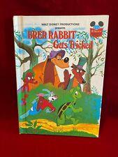 Brer Rabbit Gets Tricked Disney Wonderful World Of Reading Book Splash Mountain