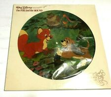 Walt Disney Productions The Story Of  The Fox And The Hound LP PICTURE DISC GOOD