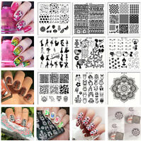 BORN PRETTY Nail art Nagel Schablonen Stamping Stempel Platte DIY BP-X Series