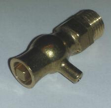 "25Cast Iron Radiator - Traditional Bleed Valve / Screw / Vent / Air 1/4"" Brass"