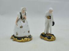Rosenthal - 2 Figuren - Mini Figuren - Herr + Dame - Lady + Gentleman