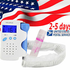 Top Fetal Doppler Prenatal Heart Rate 3MHz Probe with Heart Beat Waveform RFD-A1