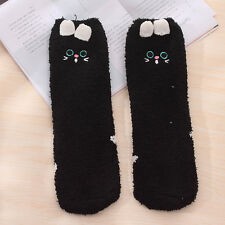 Cute Animal Fuzzy Cozy Warm Thicken Soft Ankle Towel Floor Socks Hosiery Unisex