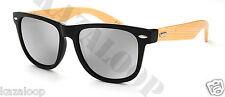 Bamboo Wood Temple Square  Mens Womens High Quality Sunglasses UV400