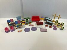 Fisher Price Loving Family Doll House Lot of Furniture & Accessories