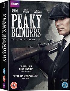 Peaky Blinders: The Complete Series 1-4 (DVD, Boxset)