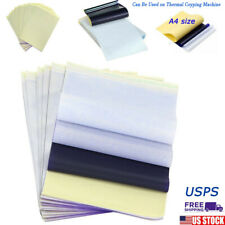 25 PCS Tattoo Transfer Paper Carbon Thermal Stencil Tracing Hectograph US New
