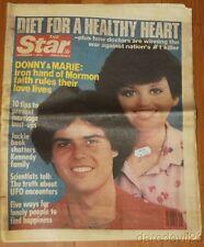 Vintage Nov 7, 1978 The Star Magazine Donny & Marie Osmond