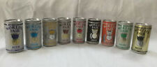 Full Set of Worlds Fair Beer Cans Knoxville 1982 & 1 Billy Beer