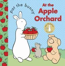 PAT THE BUNNY AT THE APPLE ORCHARD