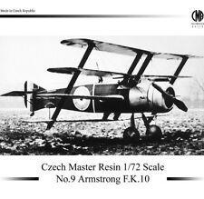 CZECH Master RESINA 1/72 Armstrong F. K. 10 #r1009