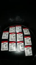 VMC Worm Hooks Assorted Sizes ( 11 pack lot)