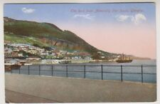 Gibraltar postcard - The Rock from Admirality Pier South, Gibraltar