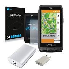CICLO Navic 400 GPS Navigation + USB Netzteil + Displayfolie + Powerbank