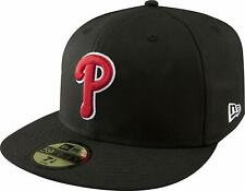 Philadelphia Phillies New Era Basic 59FIFTY Fitted Hat - Black
