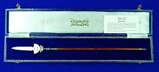 Vintage British English Wilkinson Silver Miniature Partizan Spear Dagger Knife