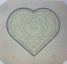 Flexible Resin Mold Heart Container