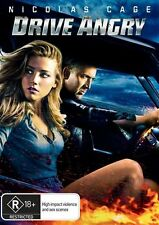 Drive Angry (Disc Only, Comes in Blank Case) Region 4 (VG Condition)