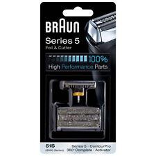 BRAUN 8000 Series 5 Activator 360 Complete ContourPro Shaver 51S Foil & Cutter