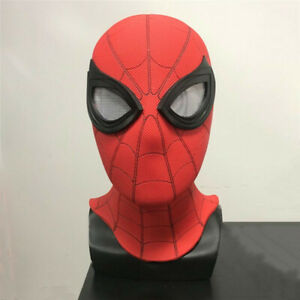 Spider-Man: Far From Home Headgear Mask Cosplay Props PVC Halloween Party Marvel