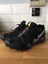 Salomon Speedcross 3 GTX GORETEX Homme Trail Chaussures De Course UK10.5 Noir