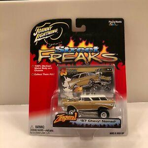 Johnny Lightning '57 Chevy Nomad Street Freaks #8 White Lightning L28