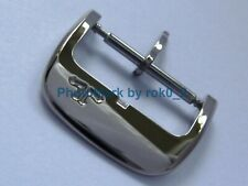 JLC JAEGER LE-COULTRE 18K, 18ct WHITE GOLD TANG PIN BUCKLE CLASP 16mm BRAND NEW!