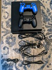 SONY PS4 PlayStation 4 Video Game Console 500GB, 2 Controllers CUH-1115A, 3 GAME