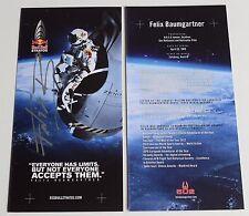 Felix Baumgartner Signed Autograph Official 8x4 photo TV Space Jump AFTAL & COA
