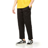 "Carhartt WIP - Abbott Pant ""Millington"" Twill, 8.5 oz Black Hose  Relaxed Fit"