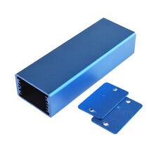 Aluminum Enclosure Electronic DIY PCB Instrument Project Box (Blue 24x40x110mm)