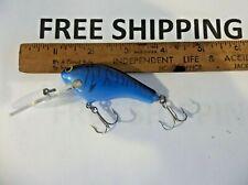 New listing Vintage Bagley Diving Killer B 2 Lure Tuff Color Blue on Blue Tiger Stripes Dkb2