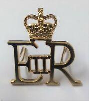 Genuine British Military Issue E R II Royal Cypher EIIR & Queens Crown ABL5X